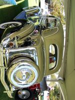 36 Ford 2 door STAINLESS STEEL by Partywave
