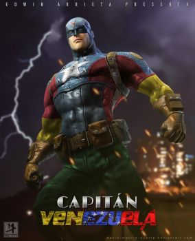 Capitan Venezuela by david-madrid-duarte