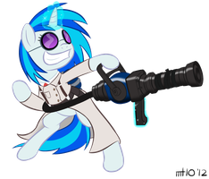 Vinyl Medic by bigfatal21