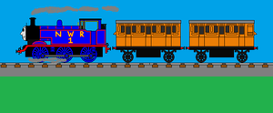 Thomas and his coaches by Robbie18