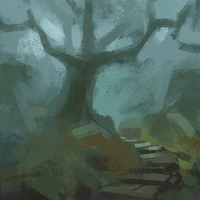 dead tree(GIF) by sharandula