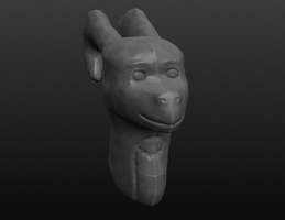 3D model (first try ever) by Dantedragon