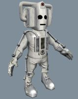 Super D-Form Cyberman by Scarecrovv