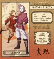 Republic City: Zorrin by Lanmana