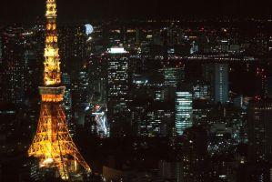 Tokyo Tower by nameless-avatar