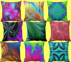 pillows by KRSdeviations