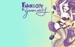 Firendship Is Generosity by dahliabee