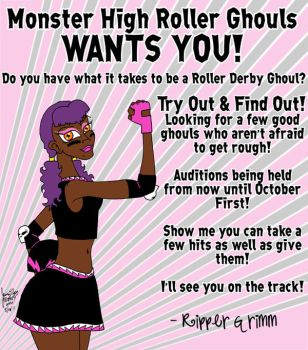 Roller Ghoul Auditions by Candy2021