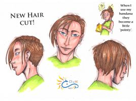 New Hair Style by LeoDragonsWorks
