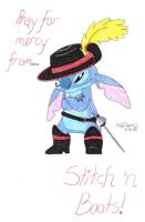 Stitch n' Boots by nooby-banana