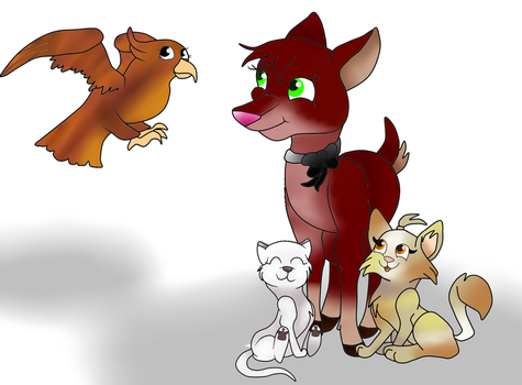 The Pets by WiseUnicorn