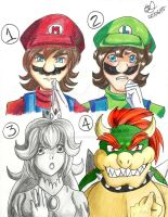 M: Coloring Styles by Aurore-Castle