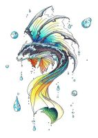 Dragon Fish by Jc2theW