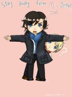 Stay away from MY John!! by ChaozTheory
