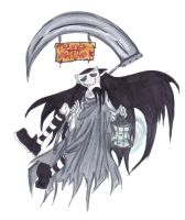 WitchGrimReaper :D by CR0WARD
