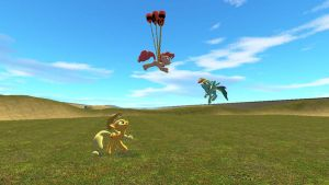 Gmod Request - Ponies at play by jrc1120