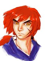 Kenshin color sketches by dreamwatcher7