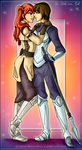 Kjelle and Severa by SheWhoWalksWithThee