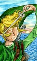 Young Waker of the Winds by Skull-the-Kid