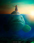 Traveling with the fish by Henriqu3Campos