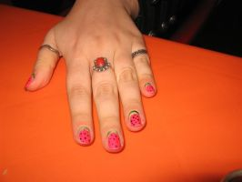 Watermelon Nails by PunkAyame