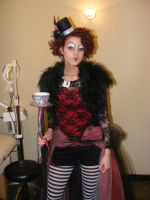 Mad Hatter meets The Queen of Hearts Costume by bkell22
