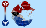 Pangea Map: Political Map by JaliosWilinghart