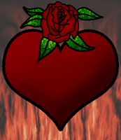 Heart Rose by ChibiMai