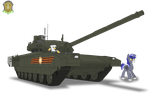 Fifth-generation of tanks: T-14 Armata by DolphinFox