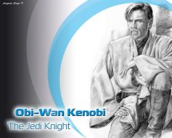 Obi Wan Wallpaper by Loye