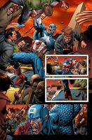 Captain America 17 pg2 by GURU-eFX