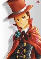 Apollo Justice Full time lawyer Part time Magician by Marini4