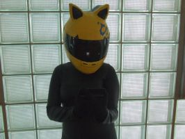 Celty Texting by pikaman206