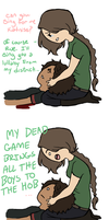 THG- I sang her to death by Cherrie-Keane