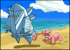 Lickitung Used Lick! by Sklavenbrause