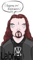 james labrie....color by Gonardtron2