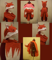 fox hat-bag by ichi-neko-designs