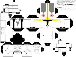 Cubee - Clone Pilot by CyberDrone
