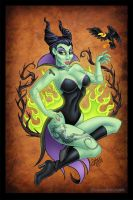 Maleficent by SpikeJones67