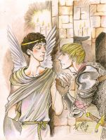 Merthur romeo and juliet color by Slashpalooza