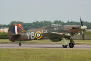 BBMF Hurricane by hanimal60