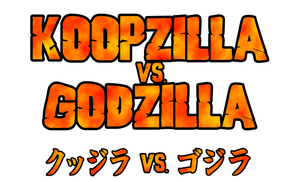 Koopzilla vs. Godzilla Logo by KingAsylus91