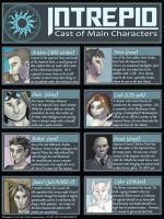 Intrepid - Cast of Characters by Ulario