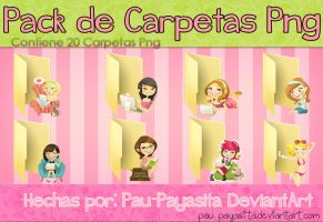 Pack de Carpetas by Pau-Payasita