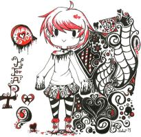 Queen of Hearts by rieha