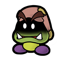 PM14 H. Dusk Goomba by The-PaperNES-Guy
