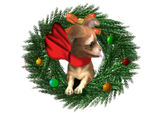 Foopets Item - Chi Wreath by LadyLirriea
