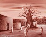 Victor Forestier Sow - The Baobab Tree by QCC-Art