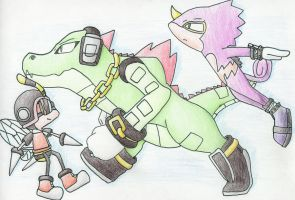Team Chaotix by NitroGenesis