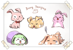 Bunny Designs 2014 by AgentKnopf